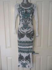 Long Sleeve Stretch Regular Size Dresses for Women