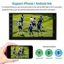 """7"""" GPS Nav Android 6.0 Double 2DIN Car Stereo Radio MP5 Player Bluetooth WIFI 3G"""