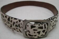 GUESS U.S.A.  ceinture en cuir léopard  taille S  vintage