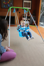 Toddler Swing Set Indoor & Outdoor Play Set For Infants 9-36 months Rooms / Yard