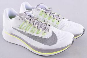 Nike Women's Zoom Fly Running Shoes 897821-101 Size US 9.5 EU 41 White Gunsmoke