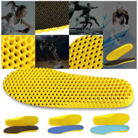 Soumit Breathable Honeycomb Height Increase Shoes Insoles for Men Women Sports