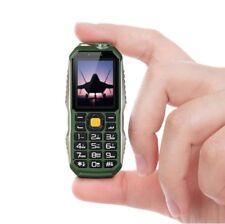 Unlocked World Smallest Shockproof Dustproof Dual Sim PowerBank Phone FlashLight