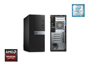 Dell OptiPlex 5050 MT PC, intel i7-7700, 16GB RAM, 500GB SSD, Radeon Graphics