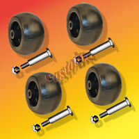 Set Of 4 Deck Wheels Fits Ariens, John Deere, MTD, Murray, Snapper & Many Others