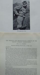 1937 - MOUNT EVEREST - DR. C.B. WARREN ON PHYSIOLOGICAL ASPECTS OF CLIMBING