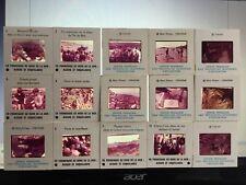 15 diapositives pedagogiques en couleurs. En promenade au bord de la mer. 116 RV