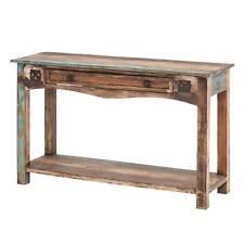 Konsolentisch Wandtisch Beistelltisch Anrichte Massivholz Vintage Retro Shabby