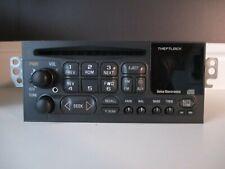 Chevy Delco AM/FM CD radio w/aux input for 95-02 car/truck # 16265881