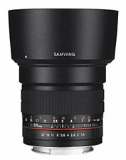 Samyang Optics 85mm F1.4 AS IF UMC Standard Angle Lens For Sony E Mount New E