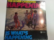 The Boris Gardiner Happening Is Whats Happening LP Sealed DY3330 Dy 3330 2010 BL