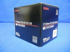 Sigma 17-50mm F2.8 EX DC OS HSM Zoom Lens For Canon Japan model New