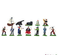 PIRATES Toob #680804 ~12 Miniatures ~ FREE SHIP to USA  w/$25+ SAFARI, Ltd.