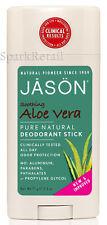 Jason Organic Soothing ALOE VERA Pure Natural DEODORANT Stick 71g