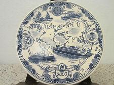 Nautical, Holland America Commemorative Plate