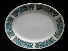 Ridgway Oval Platter Serving Plate 12in Aristocrat Retro Mod 1960s Ironstone Vtg