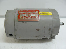 DELCO 2J17224CE 3 PHASE AC MOTOR 3 HP 3470/3485 RPM 60 220/440 230/460 VOLT