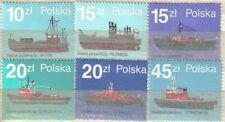 Sapeurs-Pompiers superbes timbres de Pologne de 1988 neufs.