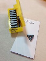 10 NEW KENNAMETAL 16 NR  28 UN THREADING CARBIDE INSERTS. GR: KC5025.{G732}