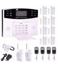 Professional Wireless Home Security System GSM Remote Control Burglar Alarm