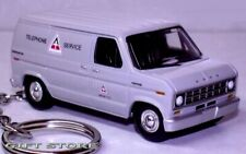 VERY RARE KEY CHAIN GREY FORD ECONOLINE 150 PHONE REPAIR VAN LIMITED EDITION NEW