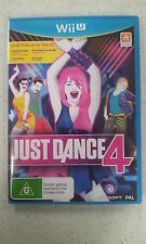 Just Dance 4 Wii U Brand New PAL Version (Not Sealed)