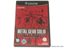 # Metal Gear Solid-the Twin Snakes Nintendo GameCube/GC juego-Top #