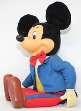 """New listing Vintage Disney Mickey Mouse Huge 27"""" Plush Doll Knickerbocker Applause Toy #3409"""
