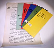 Institute of Incorporated Photographers membership & exam pack from 1960s