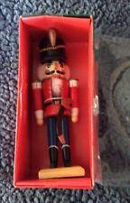 """Kurt S. Adler Christmas Nutcracker 7"""" Red And Blue In Box"""