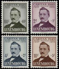 ✔️ LUXEMBOURG 1949 - CARITAS POET RODANGE - SC. B152/B155 ** MNH  [LX464]