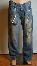Abercrombie and Fitch Jeans de Hombre Original Edición Especial Moda Estilo Punk