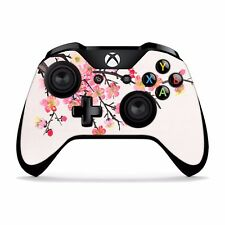 Xbox One X S Elite 360 Controller skins sticker decal Cherry blossom art XBC166