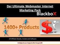 Internet Marketing Pack 1400+ Produkte Blackbox Ebook MMR PLR