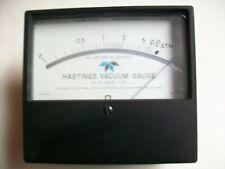 Hastings Vacuum Guage Meter 0 20 Mm Of Mercury Fs10mv