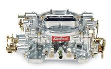 Edelbrock 1405 Performer 600 CFM Manual Choke Carb / Carburettor - Satin Finish