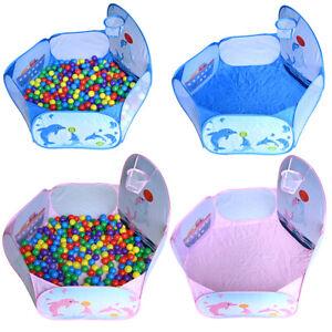 Bällebad Kugelbad Bällepool + 700 Bälle ø5,5cm Baby Kinder Spielzelt Bällchenbad