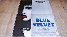 david lynch  BLUE VELVET ! affiche cinema