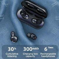Mini Earbuds Stereo Headphones Bluetooth 5.0 Headset Wireless Earphones