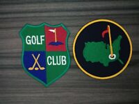 Golf  Masters Club Tournament Patch Embroidered Iron or Sew on Hat Shirt
