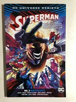SUPERMAN volume 3 Multiplicity (2017) DC Comics TPB 1st VG+