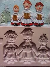 Karen Davies Choir Boys Christmas Sugarcraft Mould NEXT DAY DESPATCH