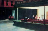 NIGHTHAWKS - EDWARD HOPPER ART POSTER - 24x36 - 39595