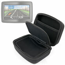 Rigid Case For TomTom Via LIVE 125 & Start 25 In Strong Black EVA With Pocket