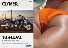 2007-2010 Yamaha V-Star Vstar 1300 CLYMER REPAIR MANUAL M283