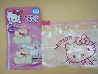 DAISO Hello Kitty Sanrio Magnet clip Japan Bonus Cute kawaii fs with tracking