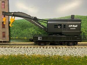 O Scale - MTH RailKing 30-7009C CP Rail Operating Crane CP Rail 414475 O4216