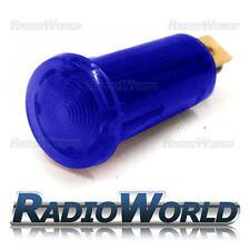 Azul iluminado luz de advertencia lámpara indicadora coche DASH 12v