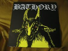 BATHORY - YELLOW GOAT!!! ORIG VINYL LP celtic frost venom hellhammer