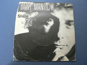 EP 7 INCH SINGLE BARRY MANILOW SHIPS , SUNDAY FATHER ARISTA 1979